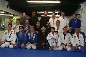 Andre Glodzinski with the Machado Team