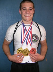 Zac Burns at Gracie Open 2011